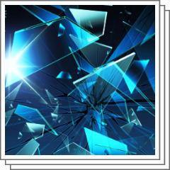 ガラスのひび割れブラシセット Clip Studio Assets