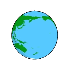 地球イラスト調2 Clip Studio Assets
