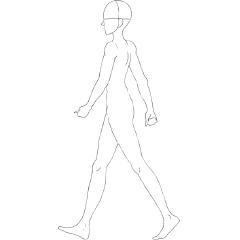 アニメーション 歩く ユニティちゃんをキー入力で移動させる