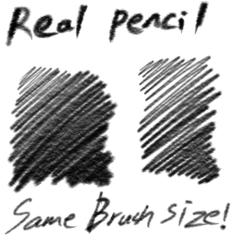 Real Pencil - CLIP STUDIO ASSETS